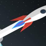 model rocket cartoon